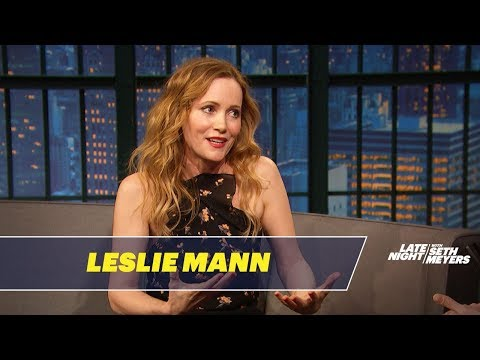 Leslie Mann Describes John Cena's Butt