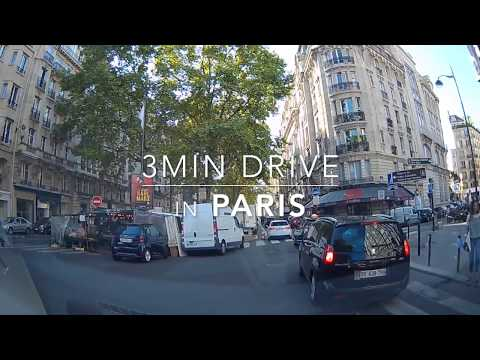3min Drive in Paris HD 1080p 034 2017Sept.