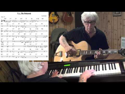 I'll Be Around  - Jazz guitar & piano cover ( Alec Wilder ) Yvan Jacques