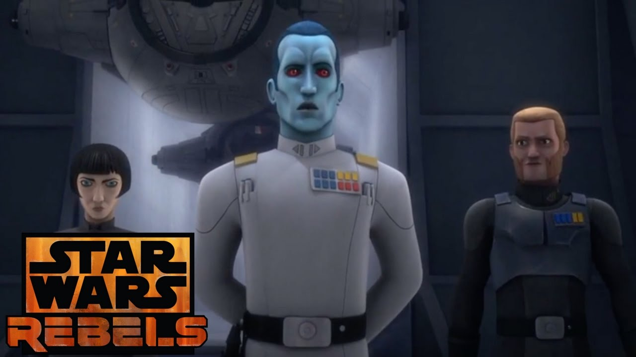 Star Wars Rebels: Grand Admiral Thrawn Have no Mercy for Errors ...