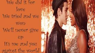 Watch Rags Cast Me And You Against The World feat Keke Palmer  Max Schneider video