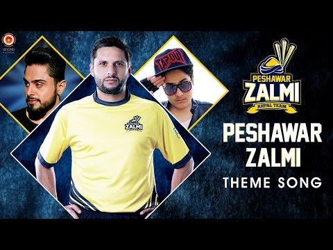 PSL 2016 - Peshawar Zalmi Official Anthem Song by Arbaz Khan ft. Zohaib Amjad - Lyrics - New Songs