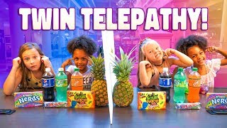TWIN SISTERS TELEPATHY CHALLENGE with McCLURE TWINS!