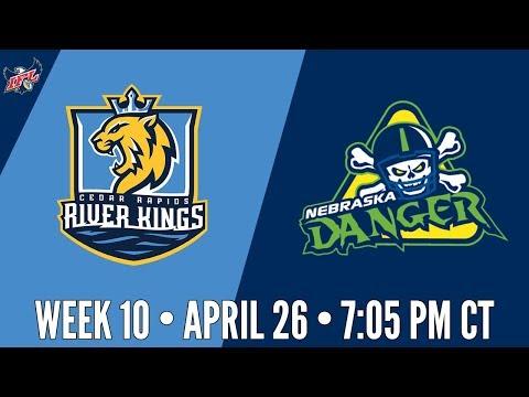 Week 10 | Cedar Rapids River Kings at Nebraska Danger