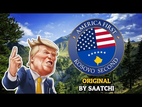 America First Kosovo Second (KOSOVO REACT TO THE NETHERLANDS WELCOMES TRUMP) | Saatchi