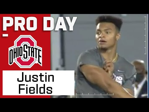 Justin Fields FULL Pro Day Highlights: Every Throw