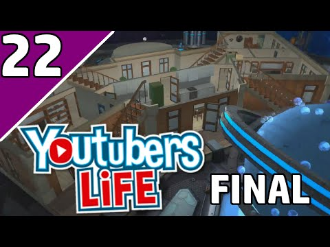 Let's Play YouTubers Life Ep 22 FINAL | SPACE STATION MANSION?! | (YouTubers Life Game Gameplay)