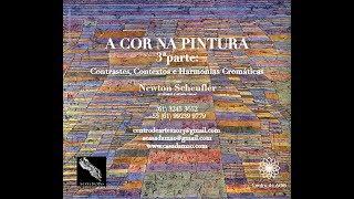 A Cor na Pintura - parte 3: Contrastes e Harmonias Cromática