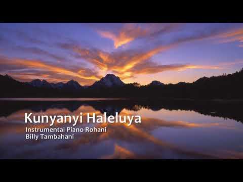 Kunyanyi Haleluya - Instrumental Piano Rohani - Piano Cover