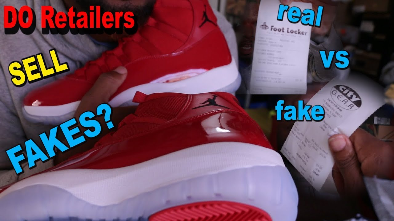 ebec30604b36ad Win Like 96 Jordan 11( Did Authorized Retailer Sell Me FAKES ...