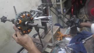 Manual Ceiling fan winding machine