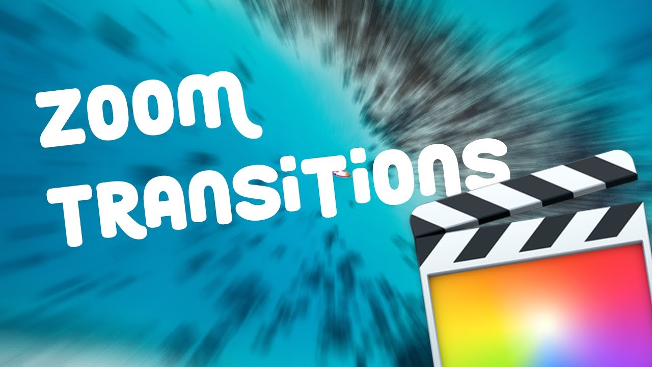 Zoom Transitions Final Cut Pro X Free Youtube