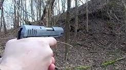 SHOOTING THE AMT 45 ACP BACKUP, NICE CCW