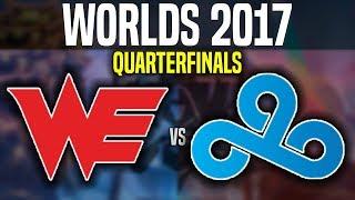 WE Vs C9 - Game 1 - Worlds 2017 Quarterfinals - Team WE Vs Cloud9 G1 | Worlds 2017