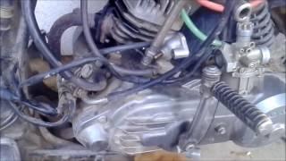 Ремонт Honda Tact af-09 (af05e) 1ч.