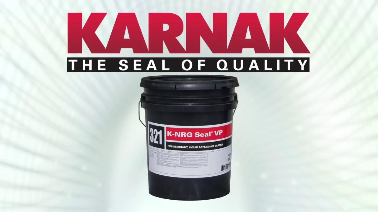 KARNAK K-NRG Seal VP™ Vapor Permeable Air Barrier