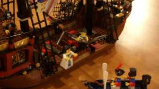 Lego Pirate Ship Build In Warp Speed!