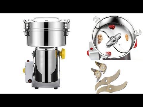 Мини мельница для зерна и кофе мукомолка электрическая 1000 г