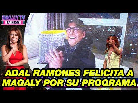Adal Ramones felicita a Magaly Medina por su programa