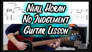 Download Lagu How to play Niall Horan - No Judgement Fingerpicking Guitar Lesson Tutorial MP3
