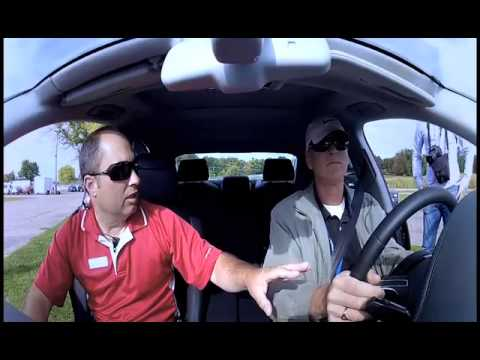 Blind Man Drives An Audi R8