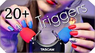Download ASMR 20+ TASCAM Triggers for Sleep & Tingles (NO TALKING) Deep Relaxing Ear to Ear Sounds 💙 3 Hours Mp3 and Videos