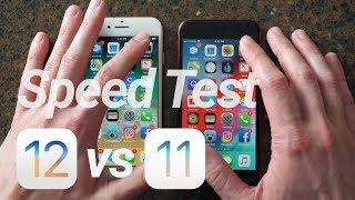 iOS 12 Speed Test vs iOS 11: WOW!