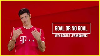 Does Lewandowski remember all the goals he's scored? Time to put him to the test... 🤖⚽