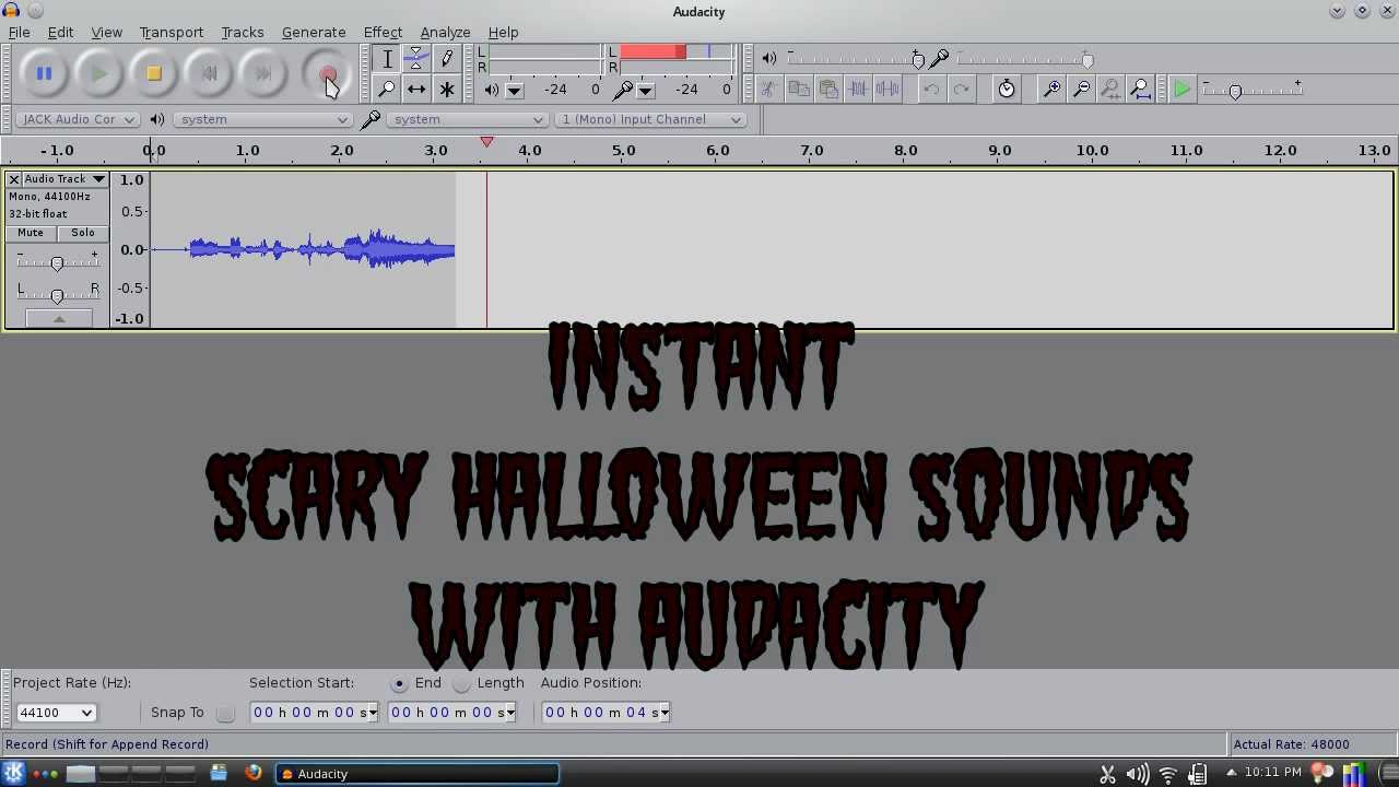 how to make sounds clearer in audacity
