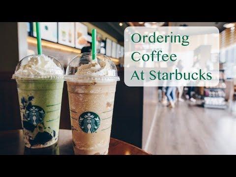 Ordering Coffee At Starbucks In English