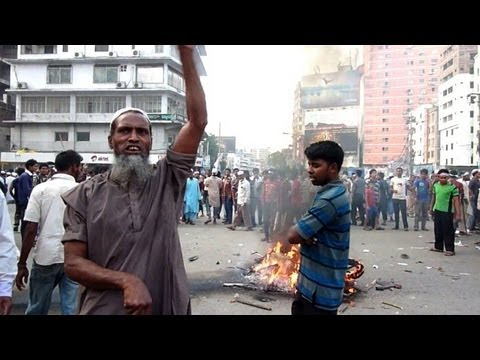 Bangladesh Islamists hold mass protest for blasphemy law
