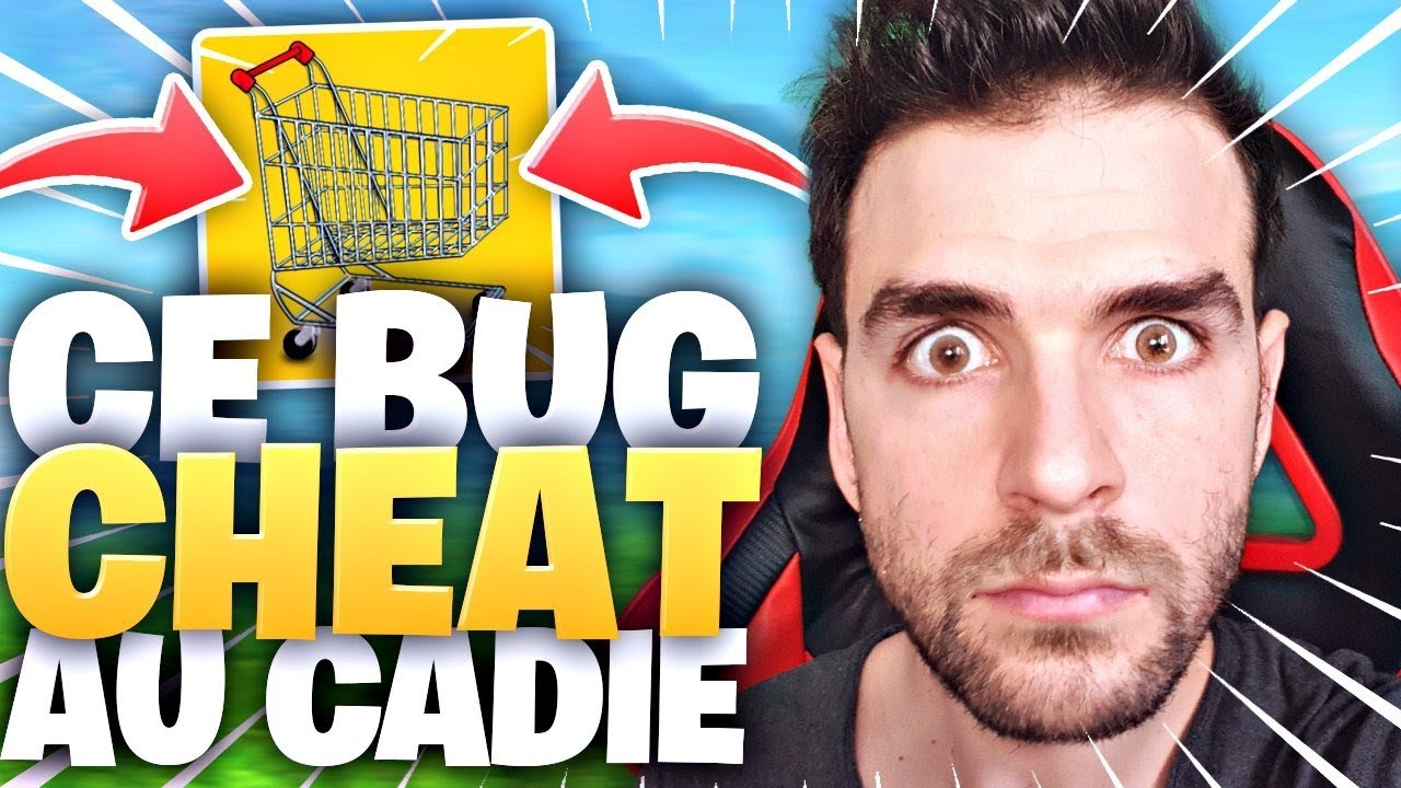 CE BUG ULTRA CHEAT AU CADDIE SUR FORTNITE BATTLE ROYALE ! Mobile & Rapide!