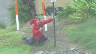 Hurricane Michael: FBN's Jeff Flock battles Category 4 storm winds thumbnail