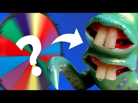 MYSTERY WHEEL DESIGNS MY SCULPTURE! *WTF?* - Monster Polymer Clay Timelapse Tutorial | Ace of Clay