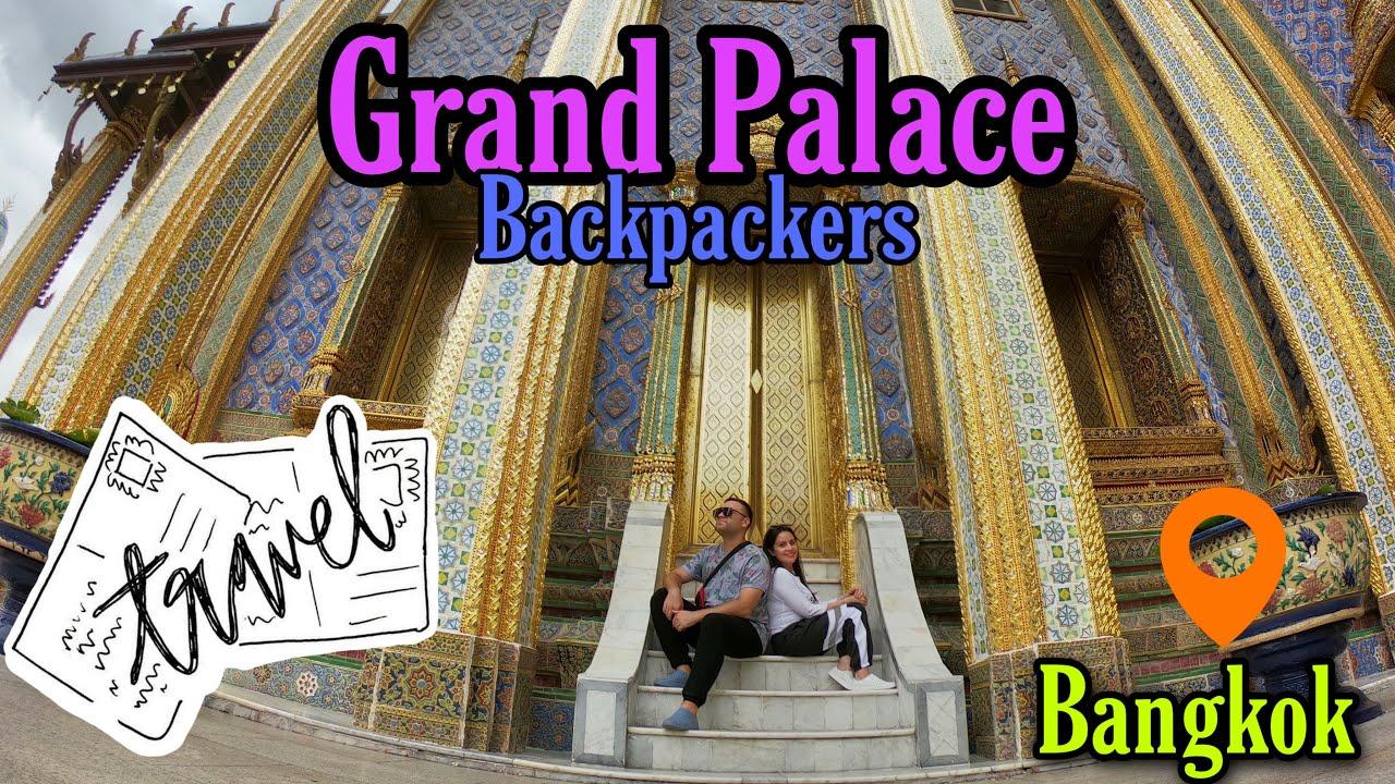 Grand palace in Bangkok. Thailand for backpackers.Gran palacio en Bangkok. Tailandia para mochileros