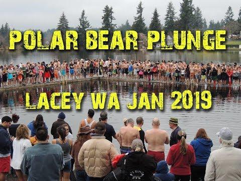 Polar Bear Plunge in Lacey WA (2019)