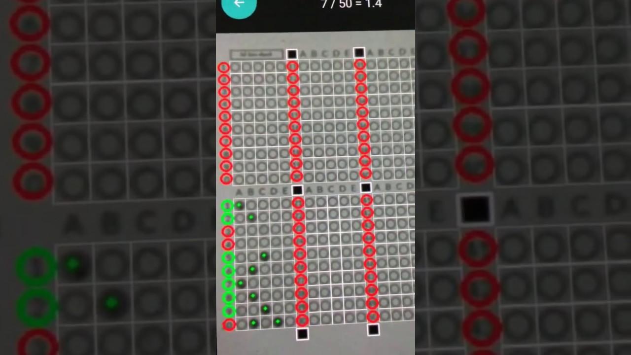 [Hướng dẫn sử dụng] Phần mềm chấm thi trắc nghiệm trên điện thoại TNMaker