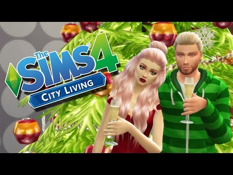 """Let's Play The Sims 4 \\ City Living \\ Part 10 """"Decorating for Christmas?!"""""""