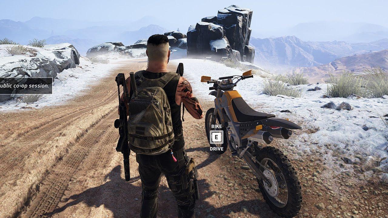 Tom Clancy S Ghost Recon Wildlands Motocross Bike Open World
