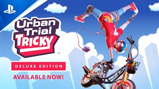 Urban Trial Tricky Deluxe Edition - Launch Trailer   PS4