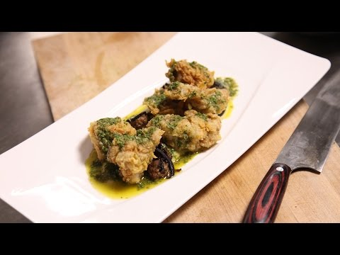 breville-presents:-chef-kelly-english-fried-sweetbreads-recipe