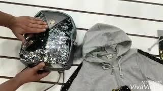 Костюм двойка 021 Турция и сумка с пайетками обзор от 12 09 2018