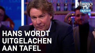Hans wordt uitgelachen aan tafel: 'Jullie zijn afschuwelijke mensen!' | VERONICA INSIDE