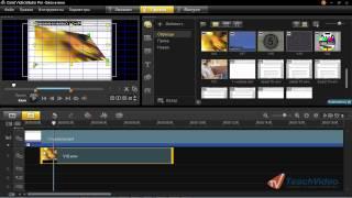 Corel VideoStudio PRO X5: Наложение клипов