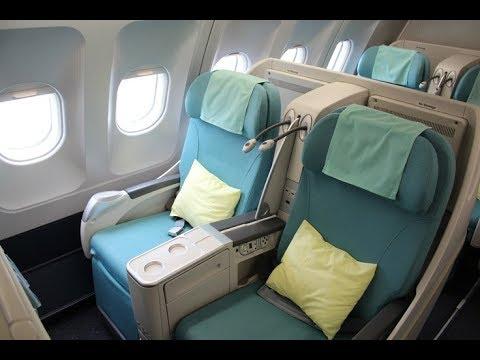 Korean Air l Business Class l A330 l Osaka (KIX) - Seoul (ICN)