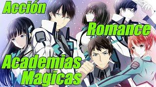 Top 10 Animes de Academias de Magia