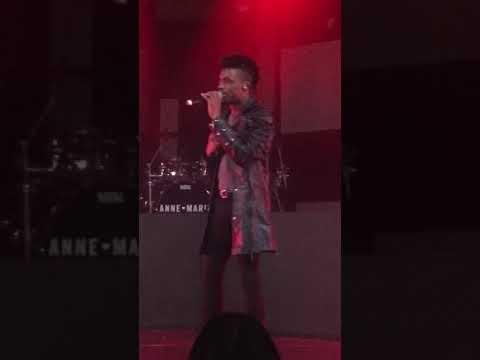 Dalton Harris (X factor finalist) live Birmingham 2018