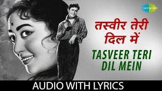 Tasveer Teri Dil Mein with lyrics   तस्वीर तेरी दिल में जिस   Lata Mangeshkar & Mohammed Rafi   Maya