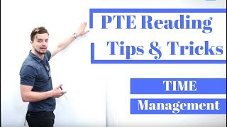 PTE Reading Tips and Tricks (time management - FOLLOW CAREFULLY!)