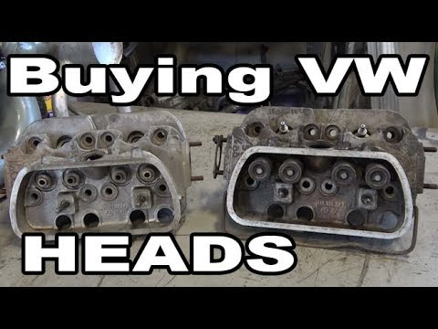 Classic VW BuGs How to Buy Used Vintage Beetle Engine HEADS for Restoration